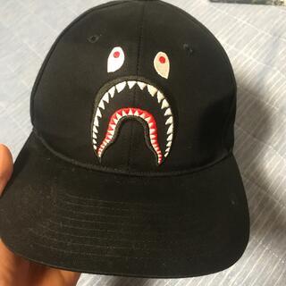 A BATHING APE - a bathing ape shark cap