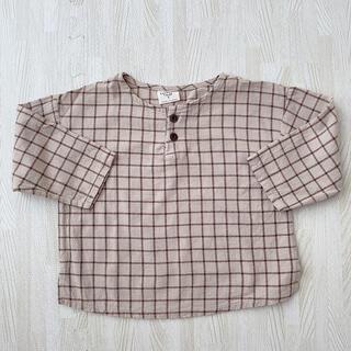 フタフタ(futafuta)の韓国子供服  グラフチェック シャツ(Tシャツ/カットソー)