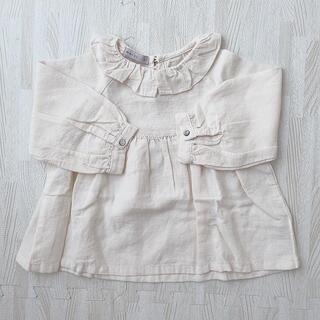 ZARA KIDS - de marvi  フリル襟 ブラウス  韓国子供服