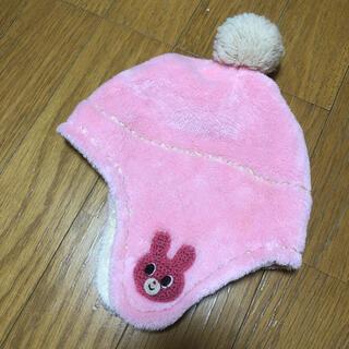 ミキハウス(mikihouse)のミキハウス ニット帽 ふわふわ うさこちゃん(帽子)