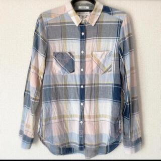エイチアンドエム(H&M)の美品♡チェックシャツ(シャツ/ブラウス(長袖/七分))