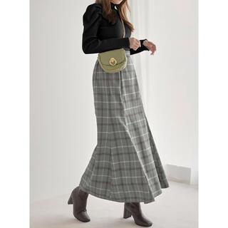 グレイル(GRL)のチェックマーメイドスカート(ロングスカート)