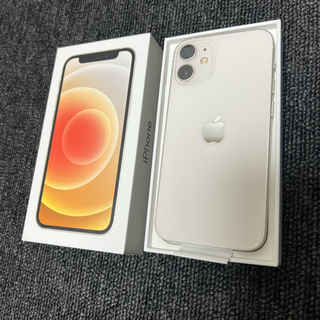 iPhone - iPhone12 mini  64G  SIMフリー ホワイト