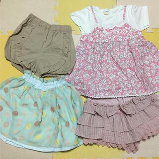 ビケットクラブ(Biquette Club)のビケットクラブ⭐️女の子まとめ売り 夏物セール サイズ110(Tシャツ/カットソー)
