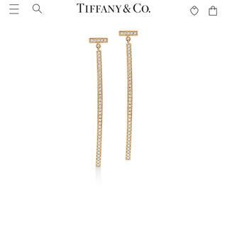 Tiffany & Co. - 定価55万円 ティファニーT Tバーダイヤモンドピアス