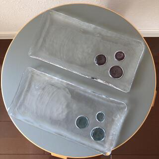 スガハラ(Sghr)のスガハラガラス しずく プレート 2枚セット(食器)