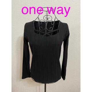 ワンウェイ(one*way)のトップス(Tシャツ(長袖/七分))