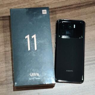 Xiaomi Mi 11 Ultra 中国版 8/256 ブラック