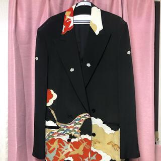 コムデギャルソン(COMME des GARCONS)のBreathtaking Elixir Kimono Jacket(テーラードジャケット)