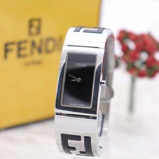 FENDI - 正規品【新品電池】FENDI 3250L/動作良好 バングル ズッカ柄