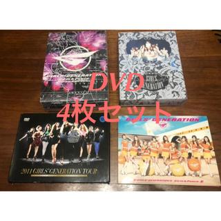 【4枚セット】少女時代 DVD  kpop  韓国 ユナ テヨン