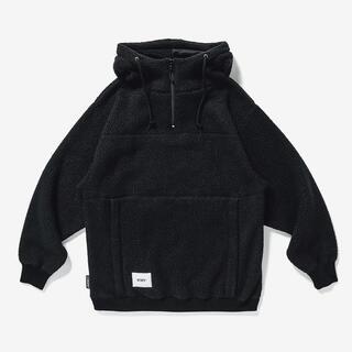 ダブルタップス(W)taps)の新品 Wtaps Pine Cone Hooded Fleece Black M(パーカー)