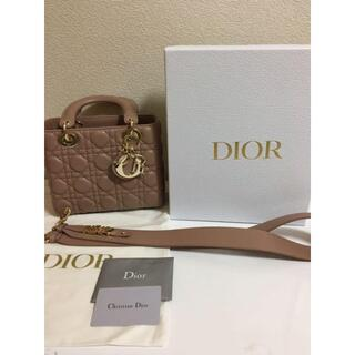 Dior - DIOR レディディオール ハンドバッグ ラムスキン