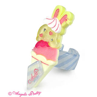Angelic Pretty - Ice Cream Parlor リング イエロー