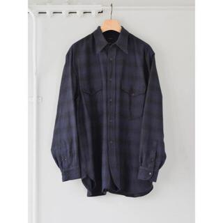 COMOLI - comoli ウールシルクワークシャツ 21aw サイズ2
