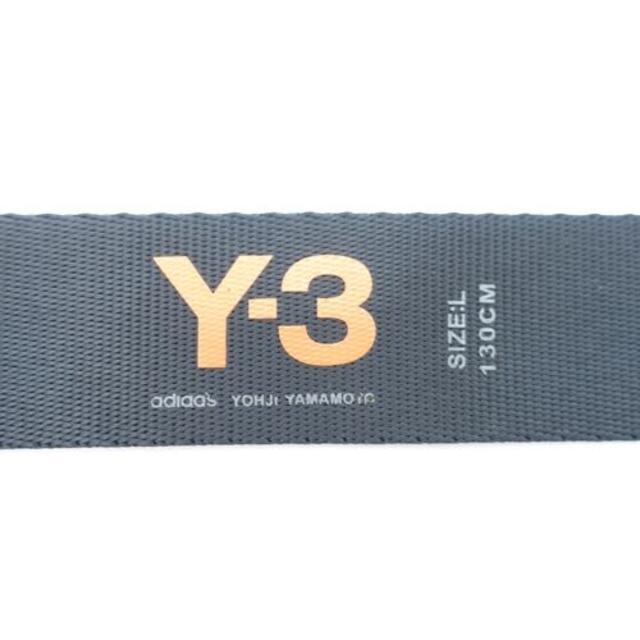 Y-3(ワイスリー)のY-3 CLASSIC LOGO BELT メンズのファッション小物(ベルト)の商品写真