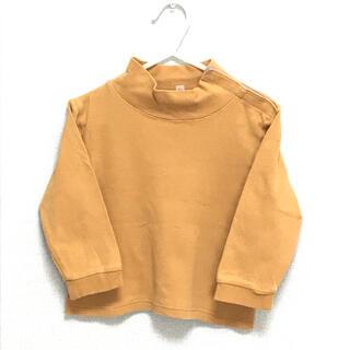 ムジルシリョウヒン(MUJI (無印良品))の無印良品 ハイネックTシャツ  90センチ(Tシャツ/カットソー)