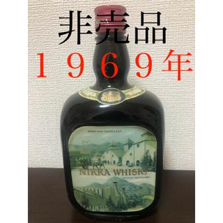 ニッカウヰスキー - 非売品★1969年宮城峡竣工記念ボトル3Dラベル★オールドニッカ