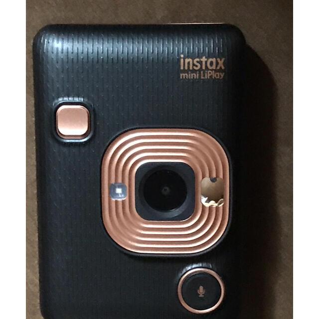 富士フイルム(フジフイルム)のINSTAX MINI LIPLAY インスタックス ミニ リプレイ スマホ/家電/カメラのカメラ(フィルムカメラ)の商品写真