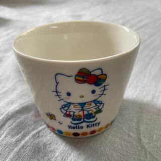 ハローキティ(ハローキティ)の非売品 キティちゃん フリーカップ HELLO KITTY(グラス/カップ)