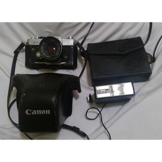 キヤノン(Canon)のcanon キャノン FTb  SPEEDLITE 102 セット(フィルムカメラ)