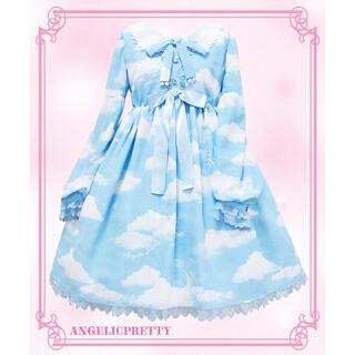Angelic Pretty - Misty Sky サックス ワンピース