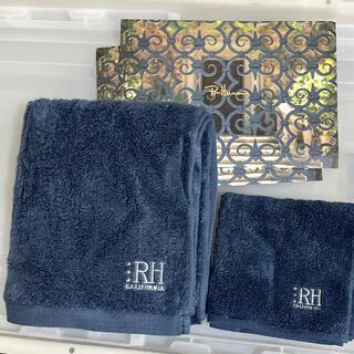 ロンハーマン(Ron Herman)のロンハーマン タオルセット ハンド/フェイスタオル タオルハンカチ カード2枚(タオル/バス用品)