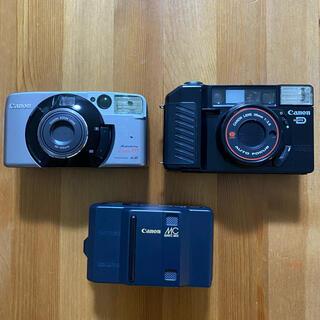 キヤノン(Canon)の【中古】Canonフィルムカメラ3点まとめ売り/ジャンク品(フィルムカメラ)