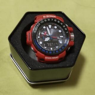 ジーショック(G-SHOCK)のG-SHOCK ガルフマスター Triple Sensor GWN-1000RD(腕時計(アナログ))