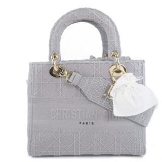 ディオール(Dior)のクリスチャンディオール レディディオール LADY D-LITE ミ(ハンドバッグ)