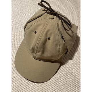 UNUSED - Sillage MU-TECH 3 LAYER FLAP CAP Beige