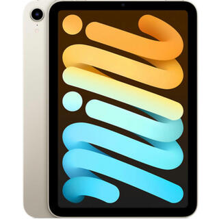 iPad - iPad mini6 wifiモデル 64GBスターライト