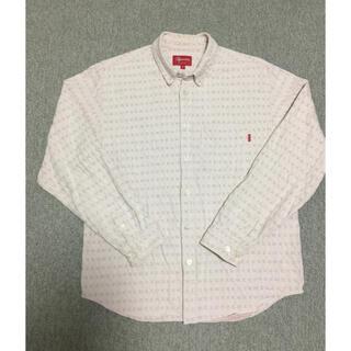 Supreme - 商品名  Jacquard Logos Denim Shirt