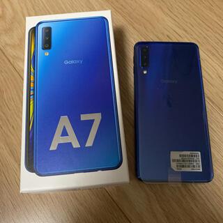 Galaxy - Galaxy A7  SM-A750C ブルー
