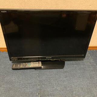アクオス(AQUOS)の液晶テレビSHARP AQUOS 24インチ(テレビ)