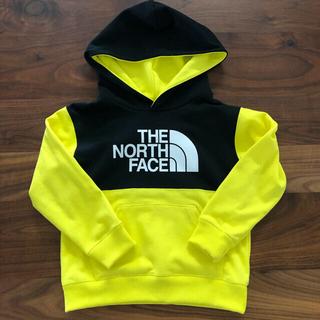 ザノースフェイス(THE NORTH FACE)のTHE NORHE FACE★スウェットロゴフーディー110cm(Tシャツ/カットソー)