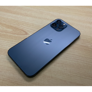iPhone - iPhone 12 Pro Max/128GB/パシフィックブルー/SIMフリー