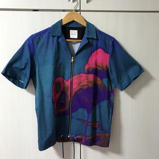 ポールスミス(Paul Smith)のPaul Smith/ポールスミス/フラミンゴプリント/半袖シャツ(ポロシャツ)