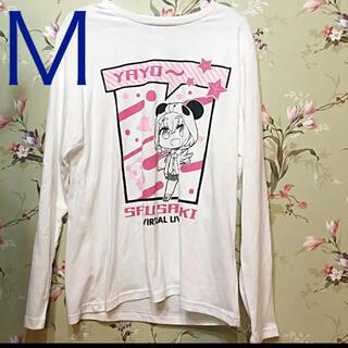 しまむら - 新品未使用 しまむら にじさんじ 笹木咲 Tシャツ カットソー Mサイズ