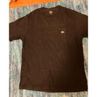 DANTON - ダントン メンズTシャツ黒