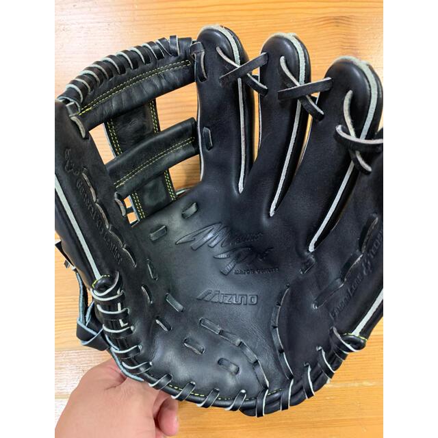 MIZUNO(ミズノ)の【最終価格】ミズノプロ  硬式グローブ スポーツ/アウトドアの野球(グローブ)の商品写真