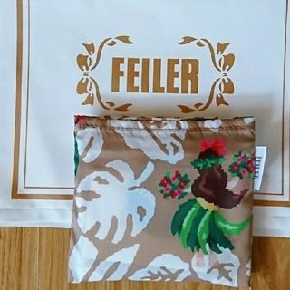 フェイラー(FEILER)のフェイラー 携帯 バッグ エコバッグ マナマナ (サイト完売)【新品未使用】(エコバッグ)