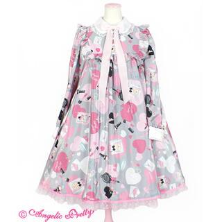 Angelic Pretty - Lovely Shoppingワンピース グレー