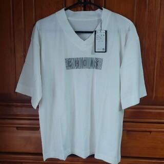 スコットクラブ(SCOT CLUB)のVネックロゴT(Tシャツ(半袖/袖なし))