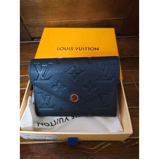 LOUIS VUITTON - ルイヴィトン M64577 ポルトフォイユ ヴィクトリーヌ アンプラント 財布