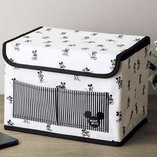 ミッキーマウス(ミッキーマウス)のInRed インレッド付録 ミッキーマウス収納ボックス(小物入れ)