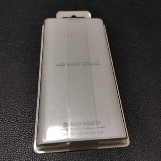 ギャラクシー(Galaxy)の【☆未使用品】Galaxy Note10+  LED VIEW COVER(白)(Androidケース)