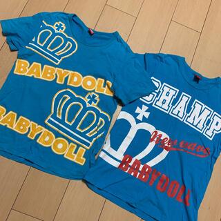 ベビードール(BABYDOLL)のベビードールTシャツセット❤️Mサイズ(Tシャツ/カットソー)