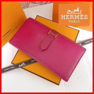 エルメス(Hermes)の【月末特別セール✨】☆HERMES  べアン スフレ 長財布 □K刻印 正規品(長財布)