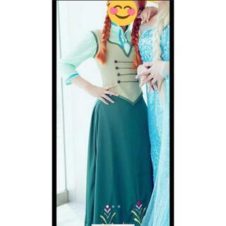 ディズニー(Disney)のアナ雪 コスプレ スケート 衣装(衣装一式)